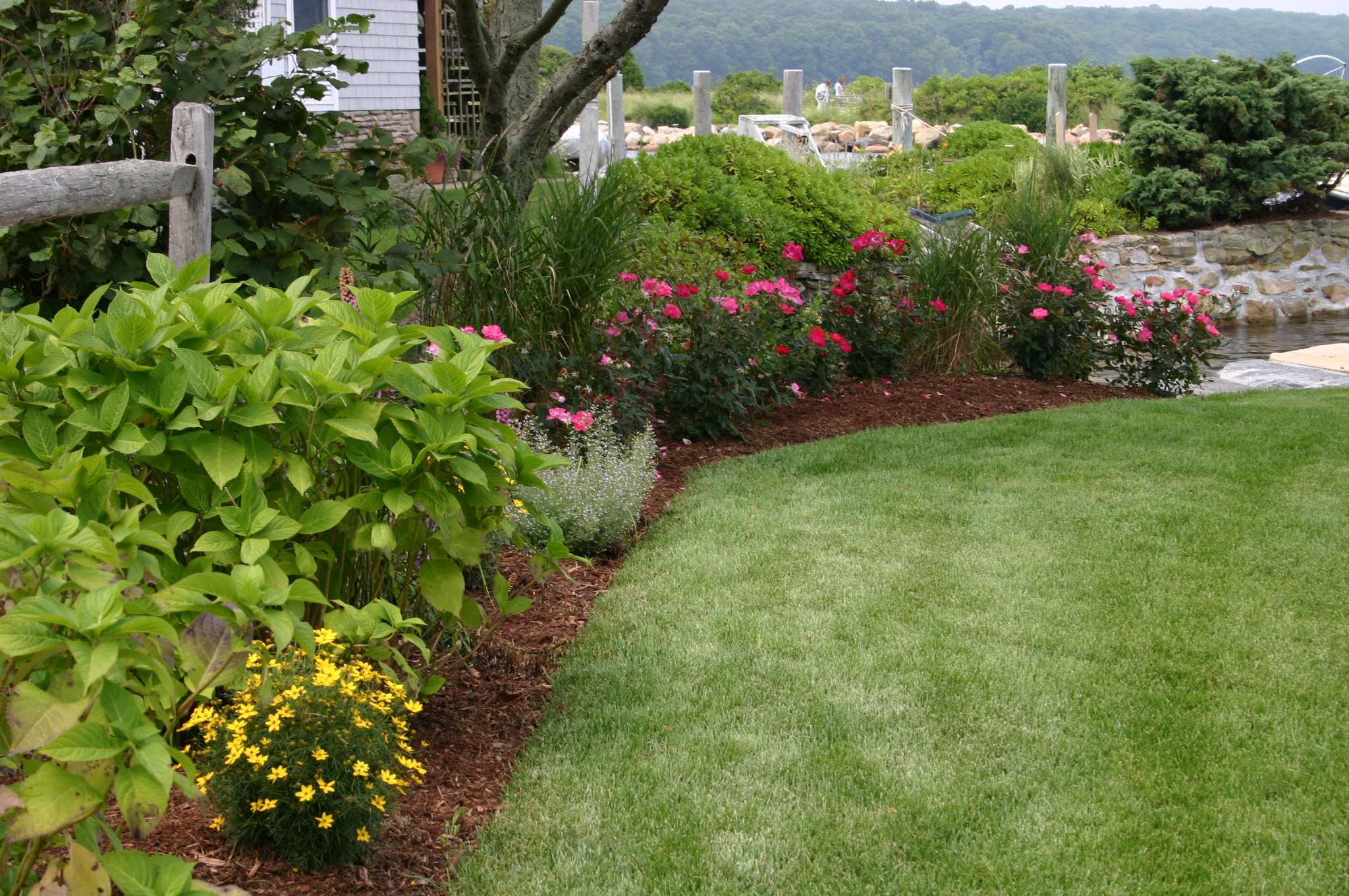 Perennial gardens hyde park landscape for How to landscape a garden